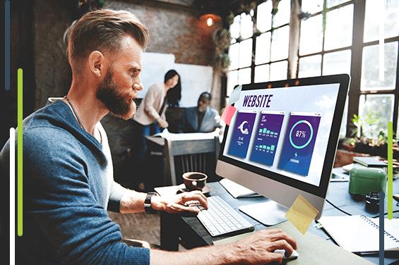 Como funciona a criação de loja virtual personalizada?