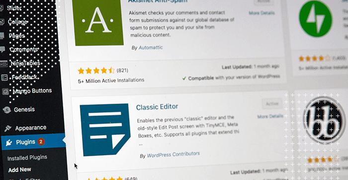 7 plugins para WordPress que são relevantes para o seu blog